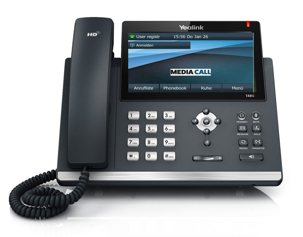 VoIP Telefonanlage von Media Call